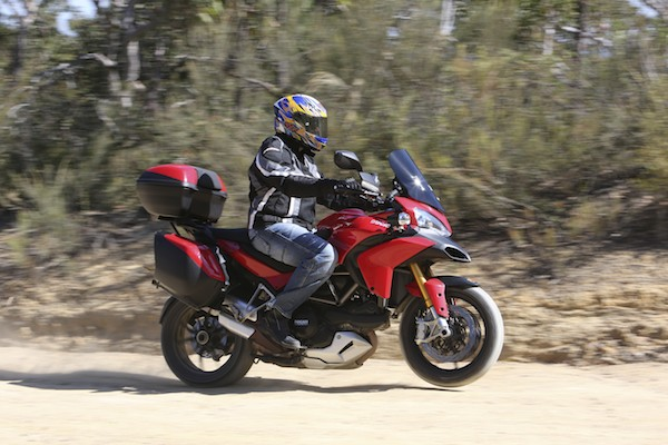 We won't be letting go of our Multistrada easily...fastest, strongest and most versatile machine in the category.