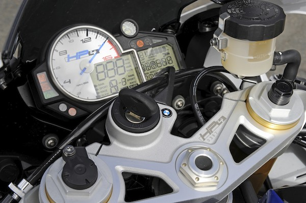 The dash has all the info you will ever need, and check out the build number on the triple clamp.