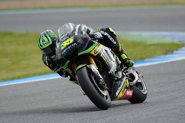 Cal Crutchlow wraps up an impressive final Jerez pre season test by fininshing third.