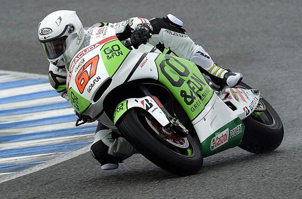 Aussie Bryan Staring - Jerez Motogp test