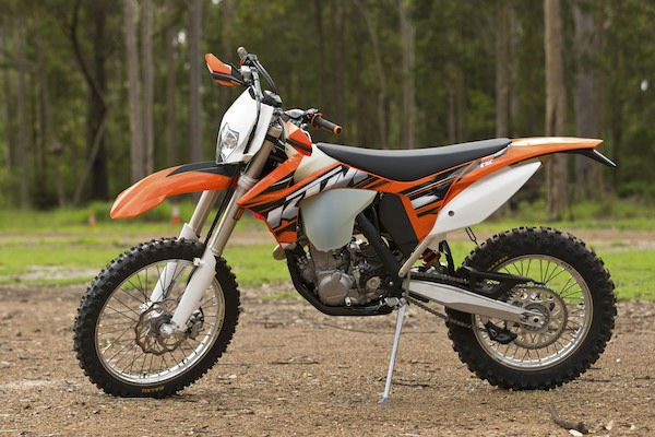 KTM 500 EXC and 350 EXC-F 2013