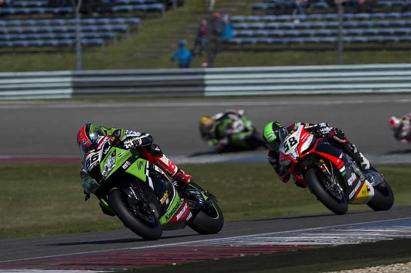 Sykes and Laverty were a class above in race 2