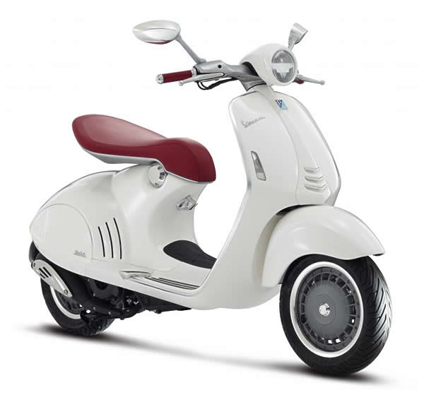 The stunning Vespa 946 goes into production late 2013