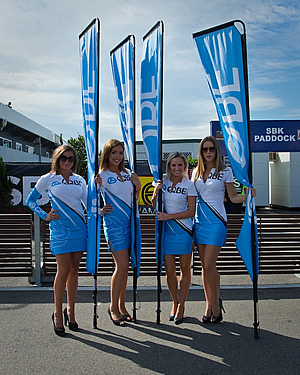 Phillip Island QBE Grid Girls