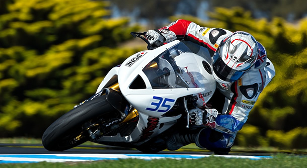 Aussie racer Mitchell Carr