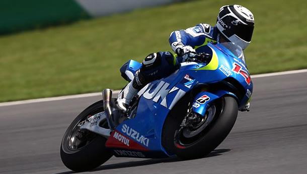 Suzuki Motogp test rider Randy DePuniet