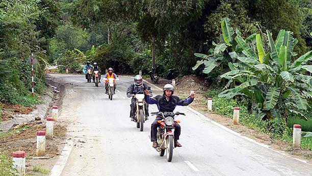 Touring Vietnam