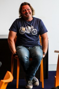 Sydney Motorcycle Show - image Charlie Boorman