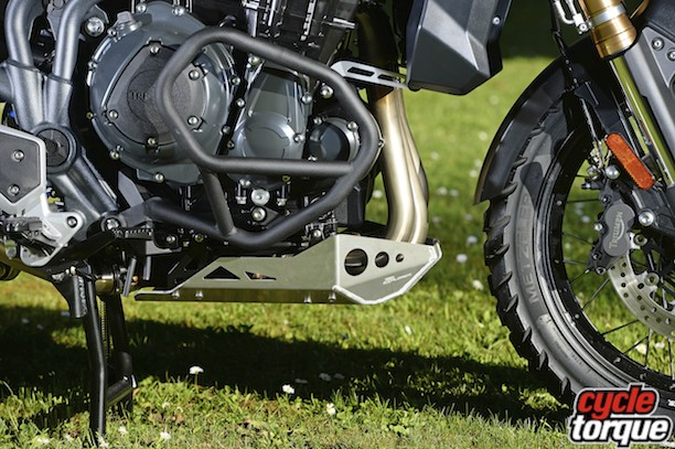 Crash bars and bash plate are part of a free Aussie Explorer upgrade.