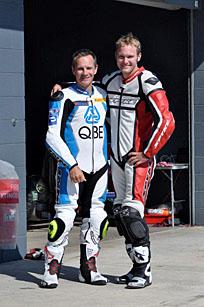 Island Classic racers Steve Martin and Beau Beaton