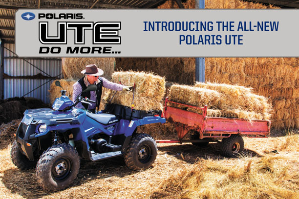 Polaris ATV, Specifically built for Australian conditions.