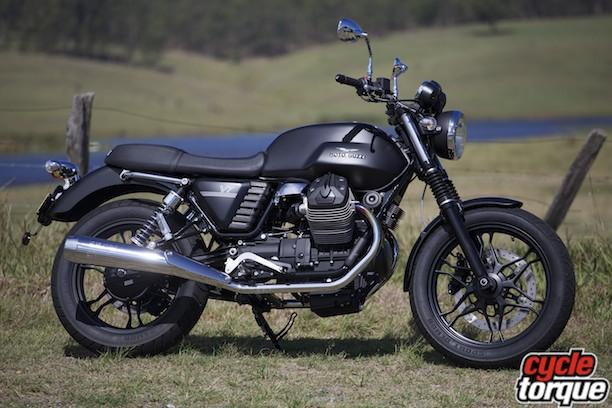 Moto Guzzi V7 Stone - Cycle Torque