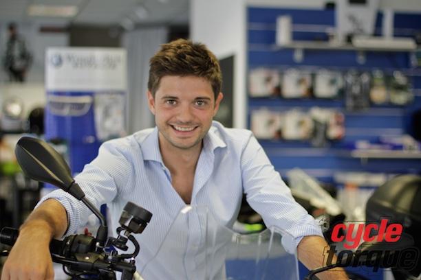 Matteo Villa of HP Motorrad