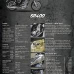 Yamaha SR400 custom parts
