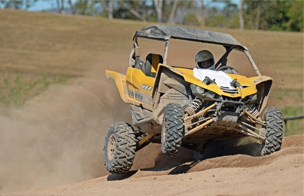 Yamaha YXZ1000R off road adventure Finke racer