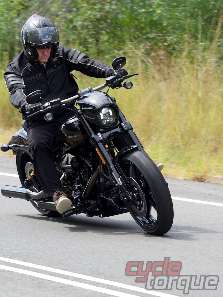 Harley-Davidson CVO Pro Street Breakout cruiser muscle world-first test