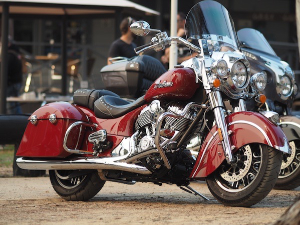 Indian Springfield new american motorcycle cruiser touring classic looks test