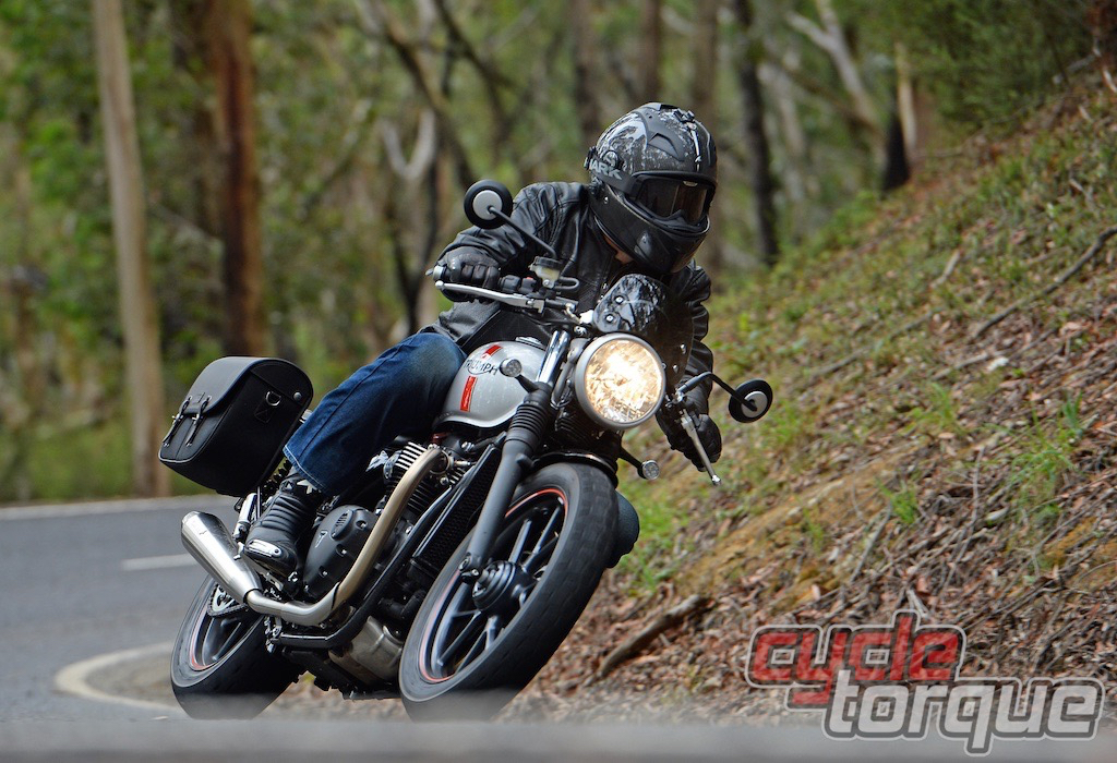 Triumph bonneville street twin motorcycle cycle torque test review naked classic British machine