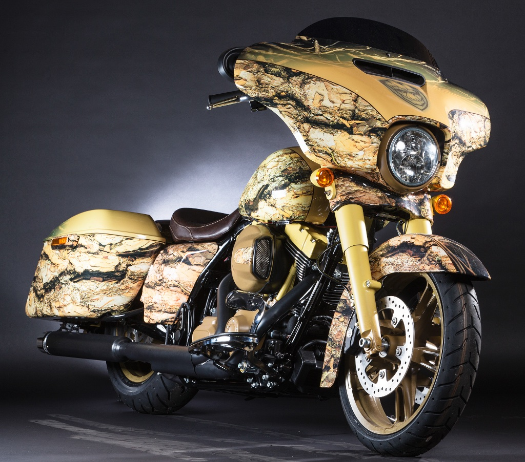 Harley-Davidson And Marvel Present Super Hero Customs