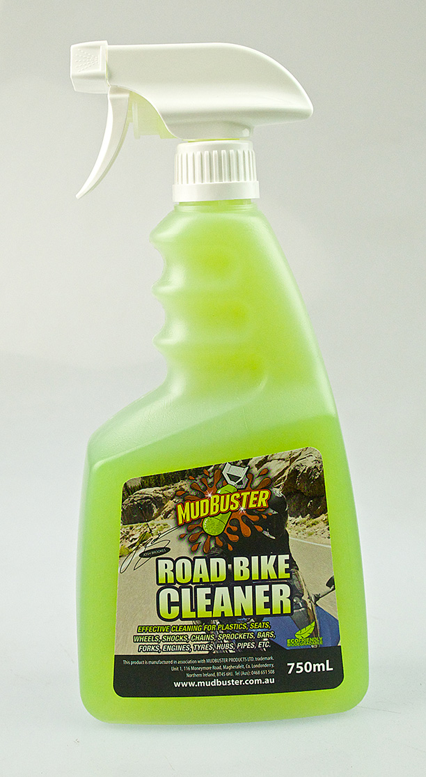 Mudbuster Road Bike Cleaner motorcycle cleaning product josh brookes