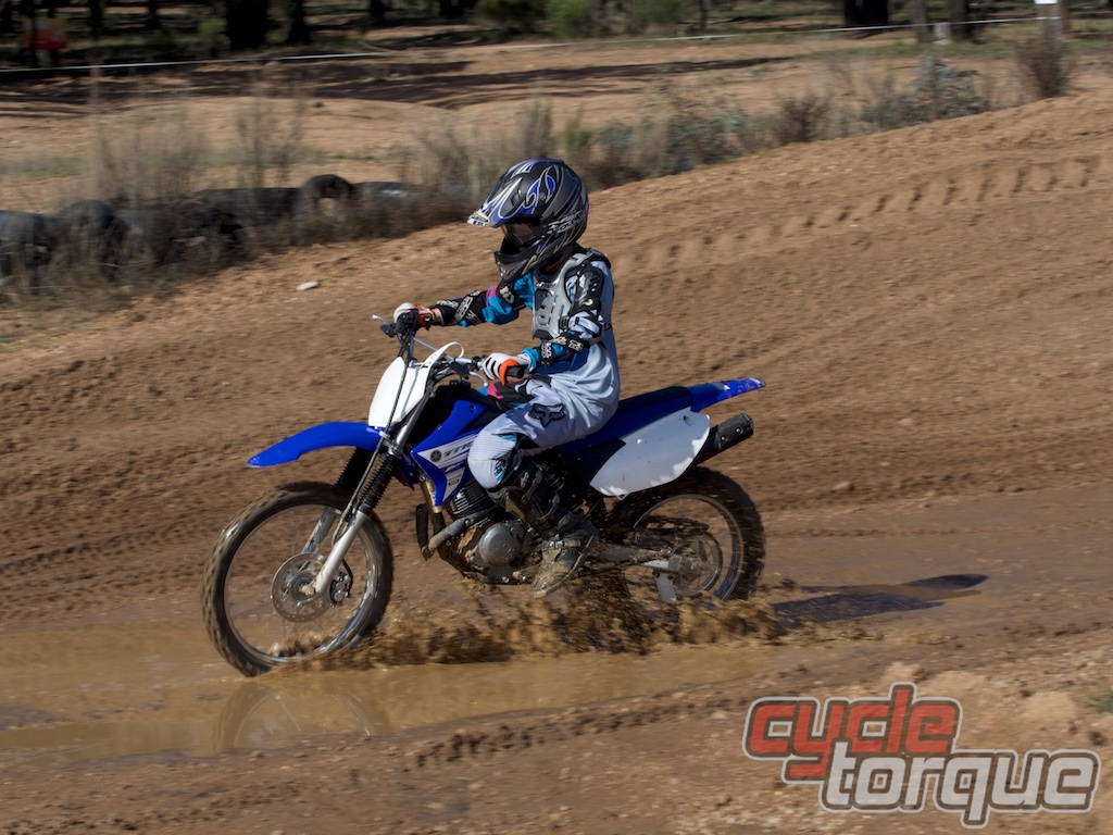 Yamaha Family Fun bike test - TT-R125 and TT-R230 - Cycle Torque