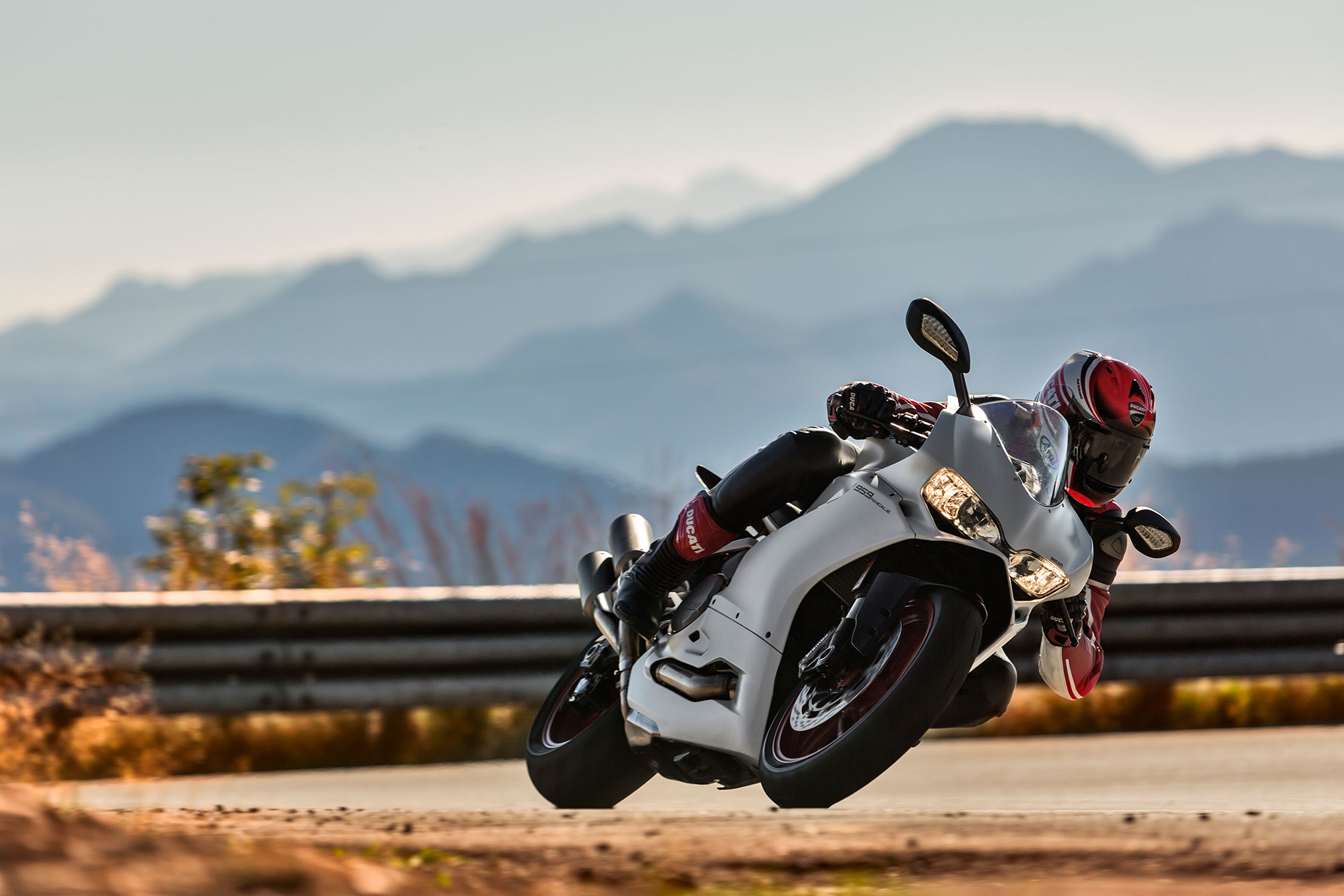 Ducati 959 Panigale test side on studio shot cycle torque magazine sportsbike supersport