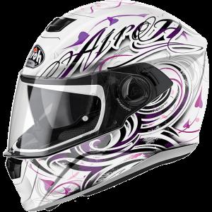 storm-poison-white-gloss airoh helmets australia moto national