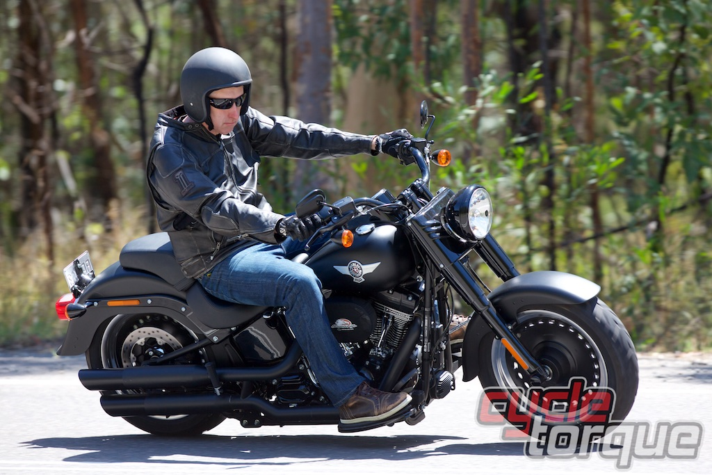 Harley-Davidson Fat Boy S | Cycle Torque Test: 110-inch Fat