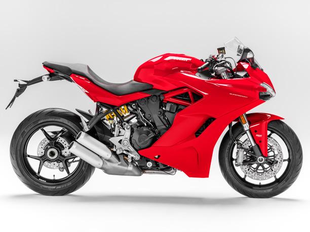 Ducati supersport s studio side on