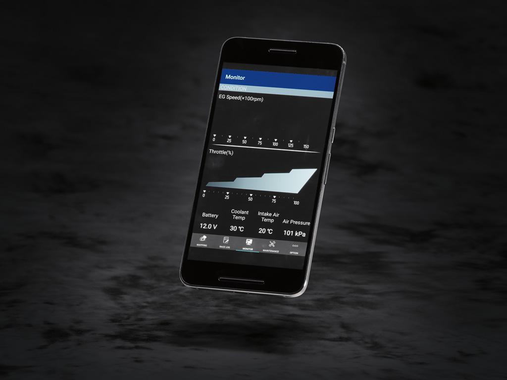 Yamaha 2018 YZ450F powertuner app
