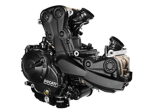 Ducati Supersport engine sports tourer motorcycle 2017