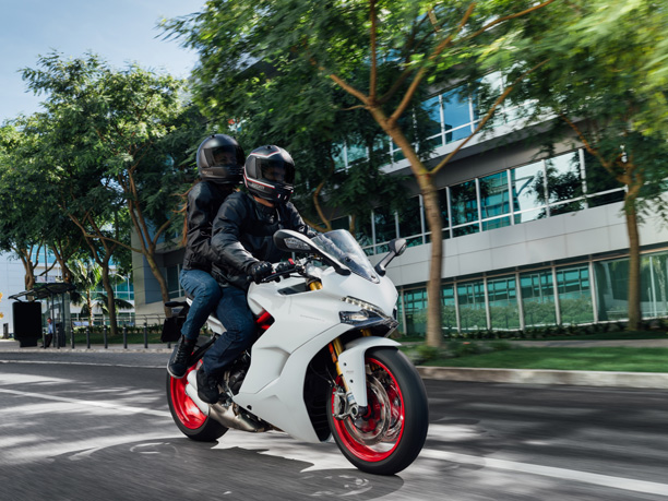 ducati supersport s two up press photo sports tourer