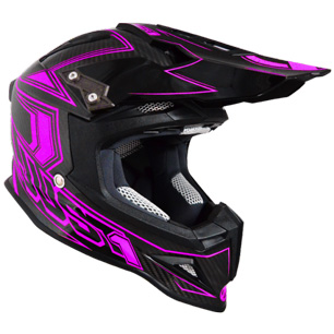 Just1 carbon helmet motocross logo