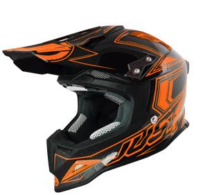 Just1 carbon helmet motocross logo