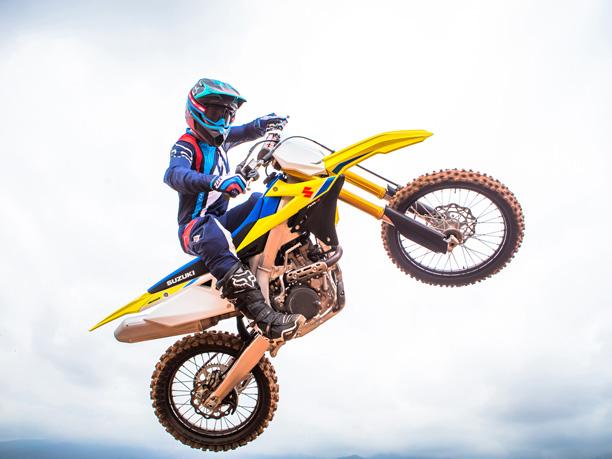 2018 RM-Z450 announced Suzuki motocross