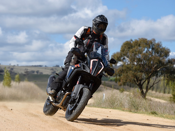 KTM 1290 Super Adventure S motorcycle off-road dirtbike travel Blue Mountains