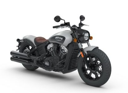 Indian Scout Bobber Cobra_INTL_Silver_Smoke_Front_3Q0000-squashed
