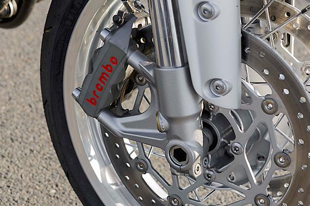 Triumph Thruxton front brake Brembo